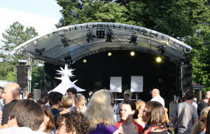 Rundbogenbühne 8,58x8,21m